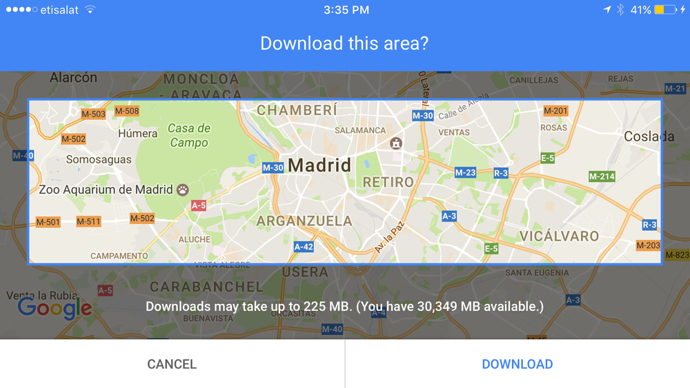 Travel Tips from my followers: Google Maps