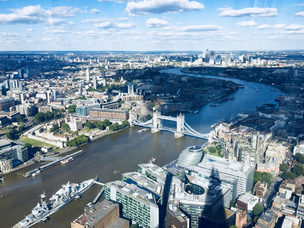 travel guide to london: the shard