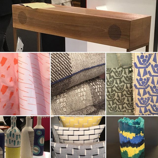 Wow, @ldndesignfair @trumanbrewery did not disappoint, packed to the rafters with texture and colour. These are just a few of my highlights. The British Craft Pavilion, curated by @holeandcorner (they produce a quarterly mag full of beautifully crafted lifestyle stories and products) showcased incredibly talented artisans and up and coming designers with their real focus on celebrating creativity, craftsmanship and heritage. I loved the hand woven zero waste textiles by @mariasigma.woventextiles  and the pops of cobalt in the sustainably made textiles by @lucyrainbow123 #whatsnottolove #handcrafted #zerowastefabrics #sustainableliving #londoninteriors #bespokefabrics #interiorinspo #londonliving #ldf18