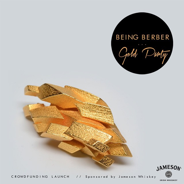 @beingberber @jameson_es #goldparty #friday