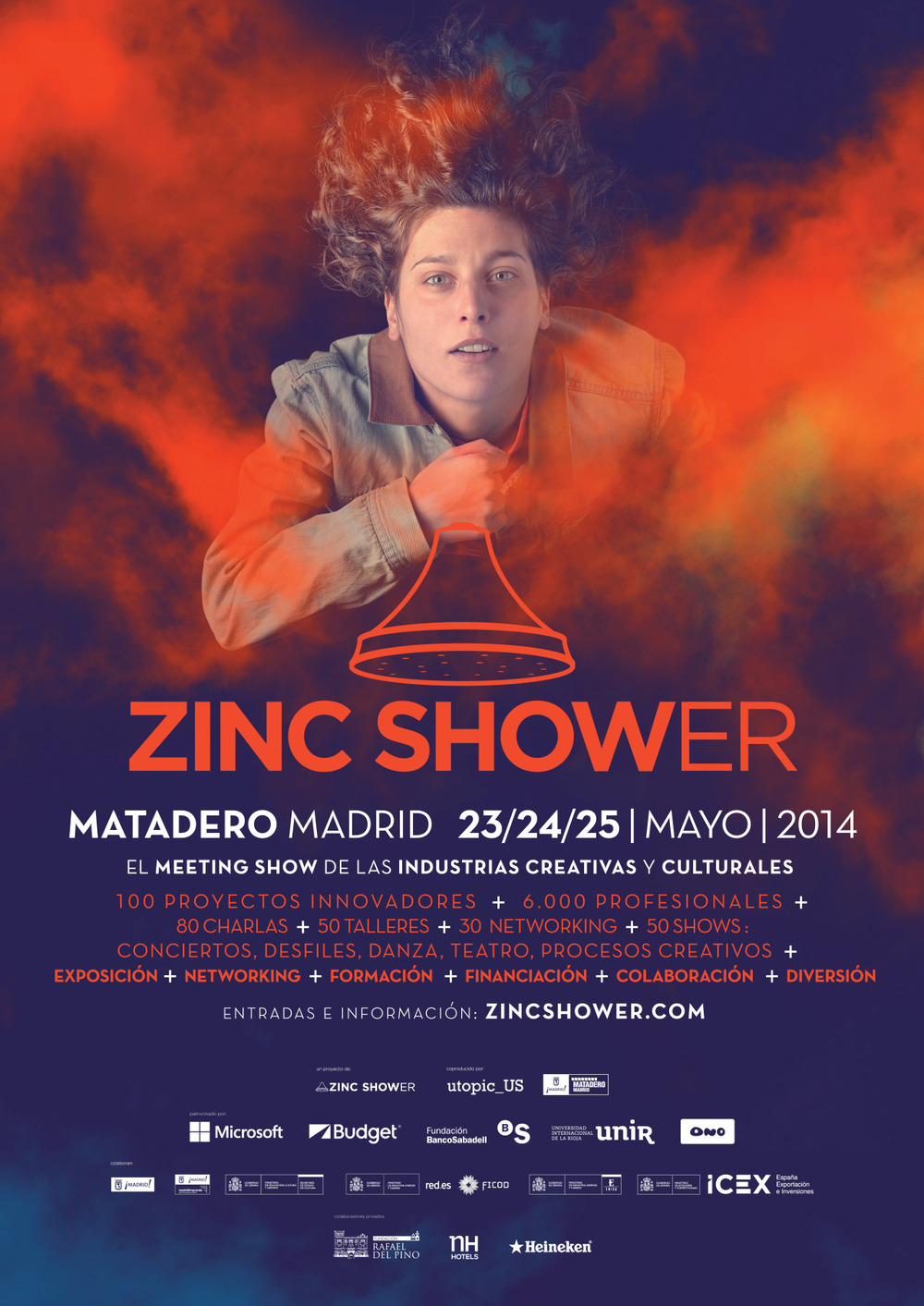 Being Berber concert confirmed for Zinc Shower 2014 at the Matadero, Madrid. (24 of May 18:00h)