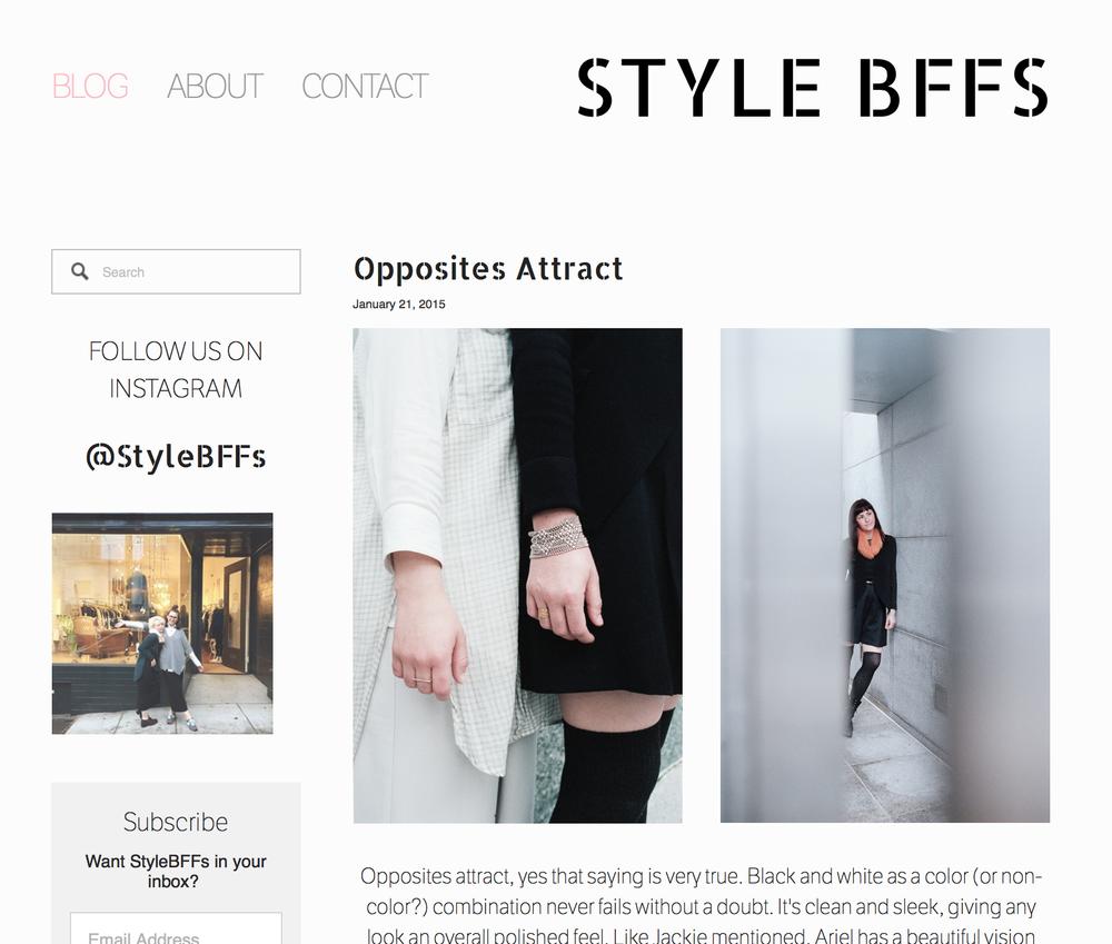 Style Bffs: Opposites Attract