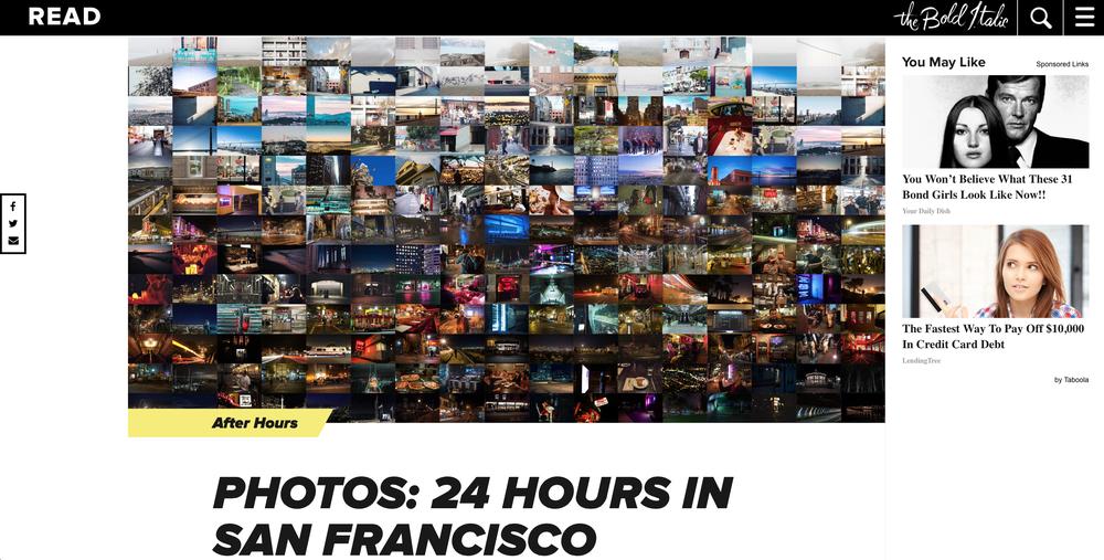 The Bold Italic: 24 Hours San Francisco