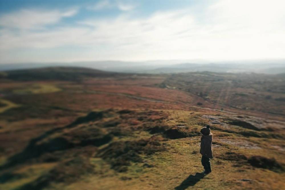 at Saddle Tor, Dartmoor