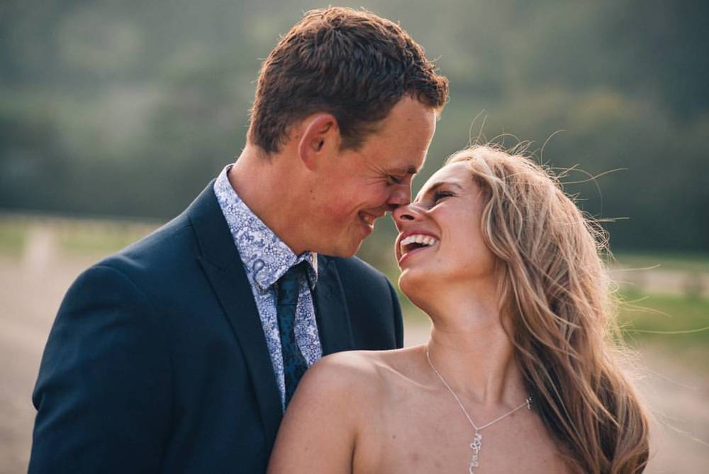 Livvy & Tom #devonweddingphotographer #blackpoolsands #devonwedding #VSCO #weddingphotography