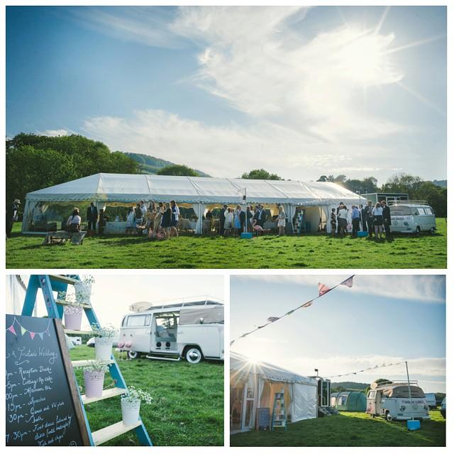The Photo Bus #photobooth #VSCO #exe #bickleigh #sun #field #wedding #weddingphotography