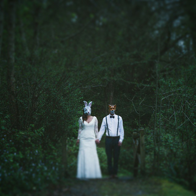 #VSCO #woodland #fantasy #fancydress #trees #weddingphotography #mask