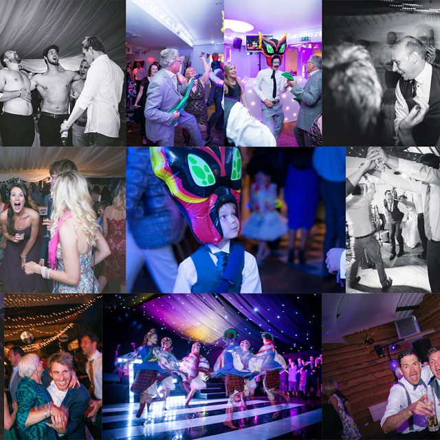 I love staying for the #party!! #VSCO #weddingphotography #fancydress #dancing