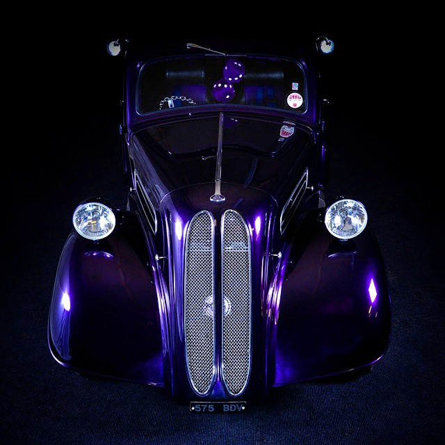 #ford #pop #hotrod #rod #custom #purple #automotive #nikon #light