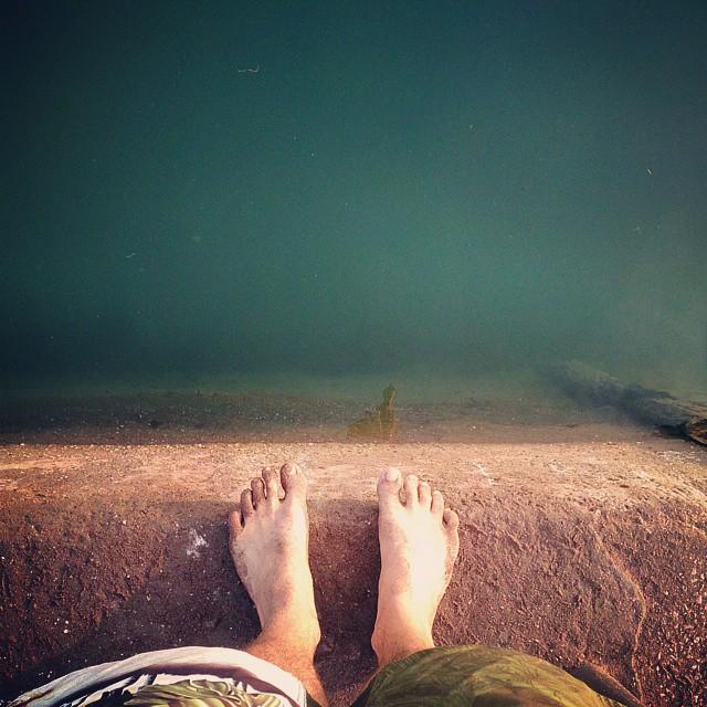 Evening #swim #teignmouth Bootiful!