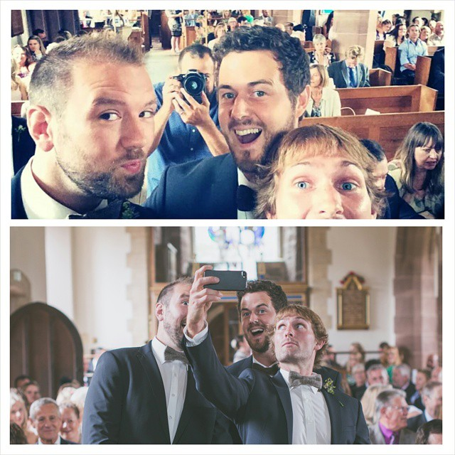 #wedding aisle #selfie! From Lauren & Tims Wedding
