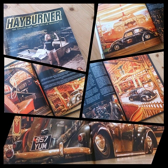 My latest feature in the all new #Hayburner magazine! Out now, go and subscribe!!! #oval #vw #volkswagen #Fairground #carnival #carnivale #beetle #airride #patina #rustislighterthansteel