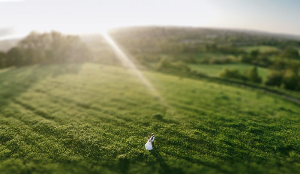 drone wedding photo upton barn wedding