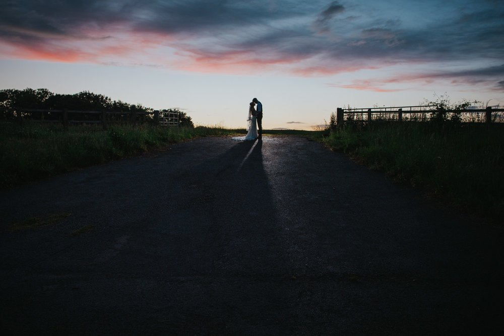 sunset wedding photo devon wedding photographer