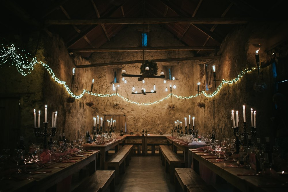 higher eggbeer wedding breakfast barn wedding