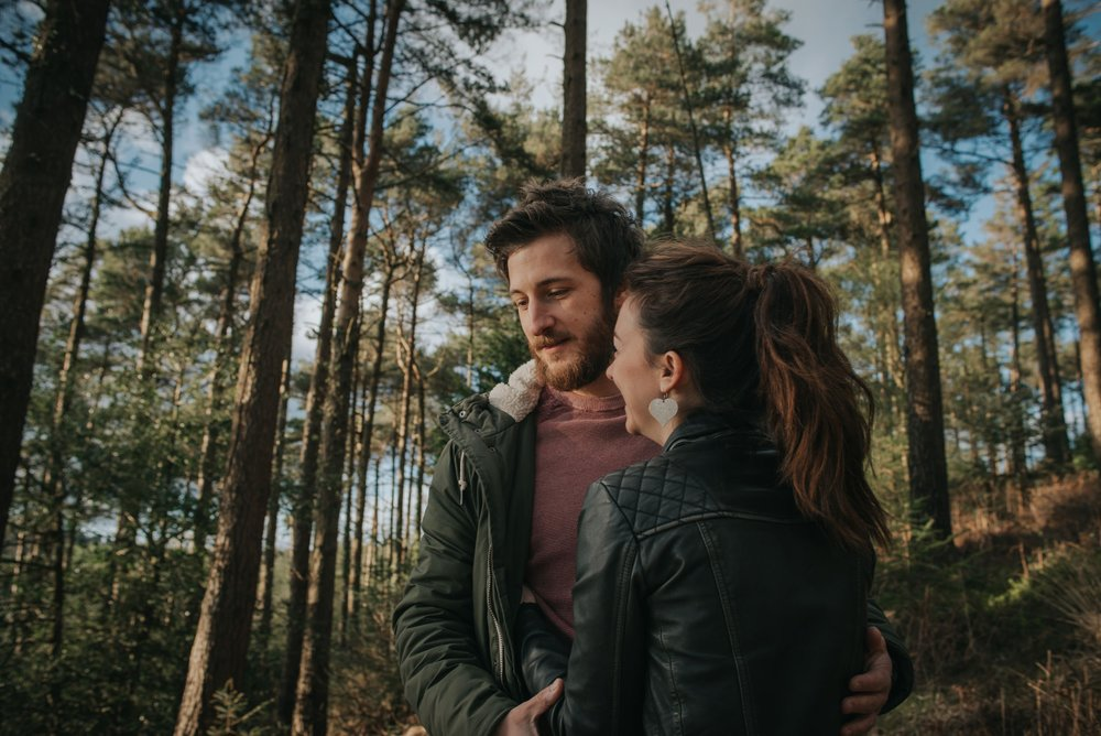 forest engagement shoot haldon forest