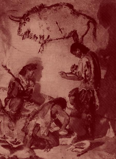 Peintres magdaléniens. Zdenek Burian