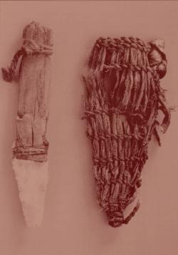 Couteau d'Ötzi et son fourreau