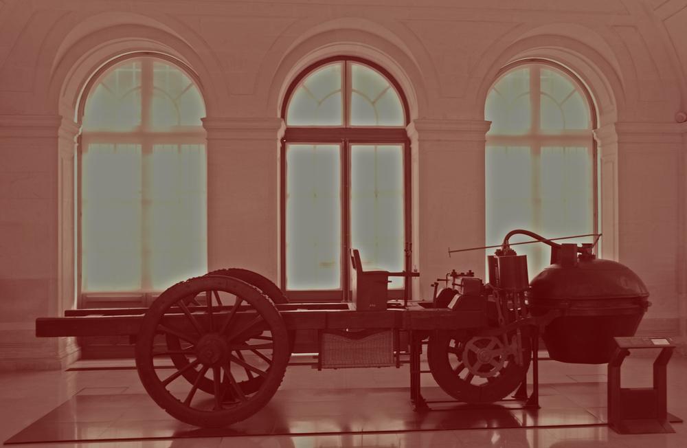 Le premier véhicule motorisé, le fardier, consommait du bois de chauffage.