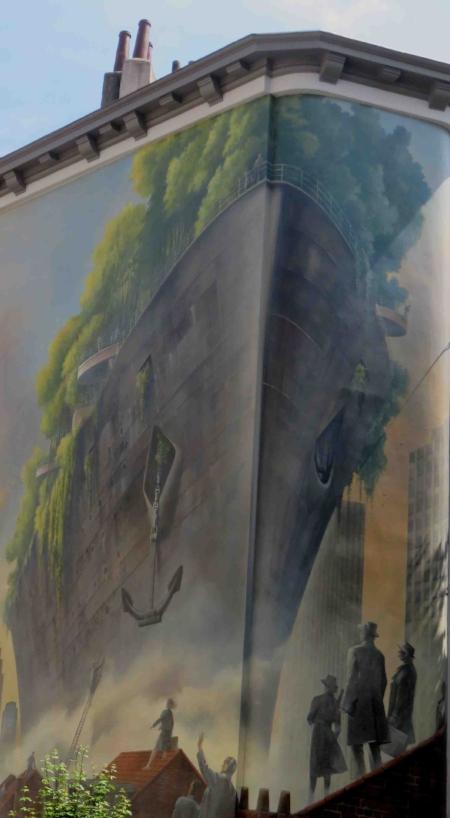 Peinture murale Bruxelles