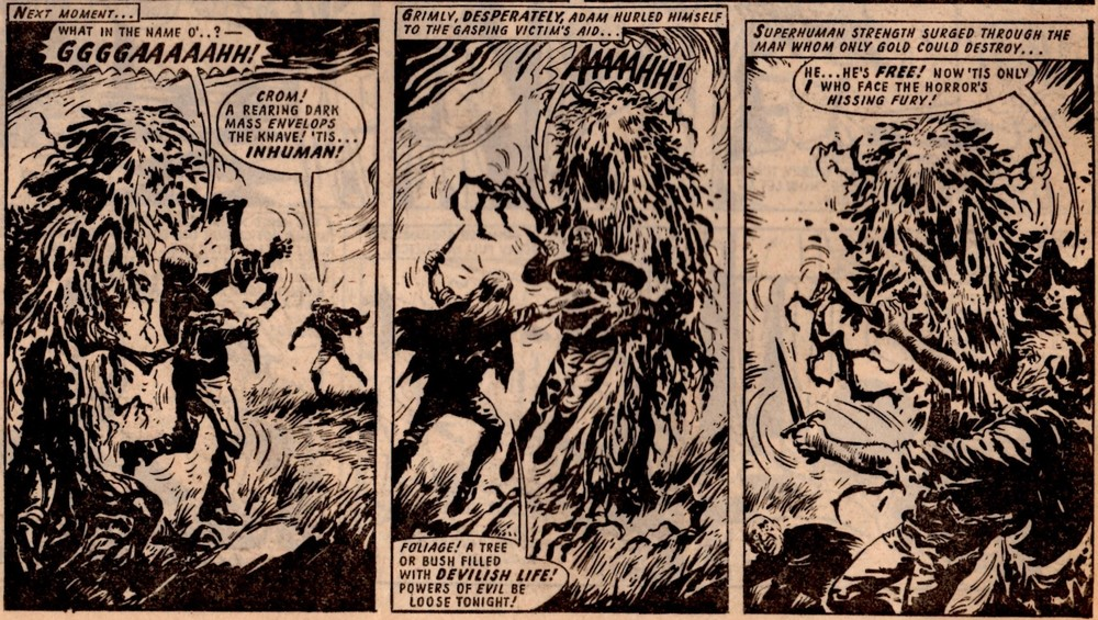 Adam Eterno (Lion and Thunder, 25 March 1972): Solano Lopez (artist)