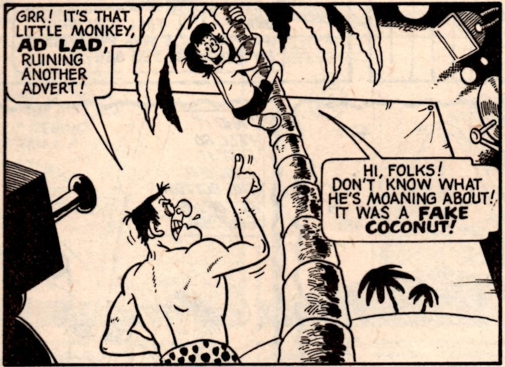 Ad Lad (Whoopee!, 25 January 1975): Trevor Metcalfe (artist)