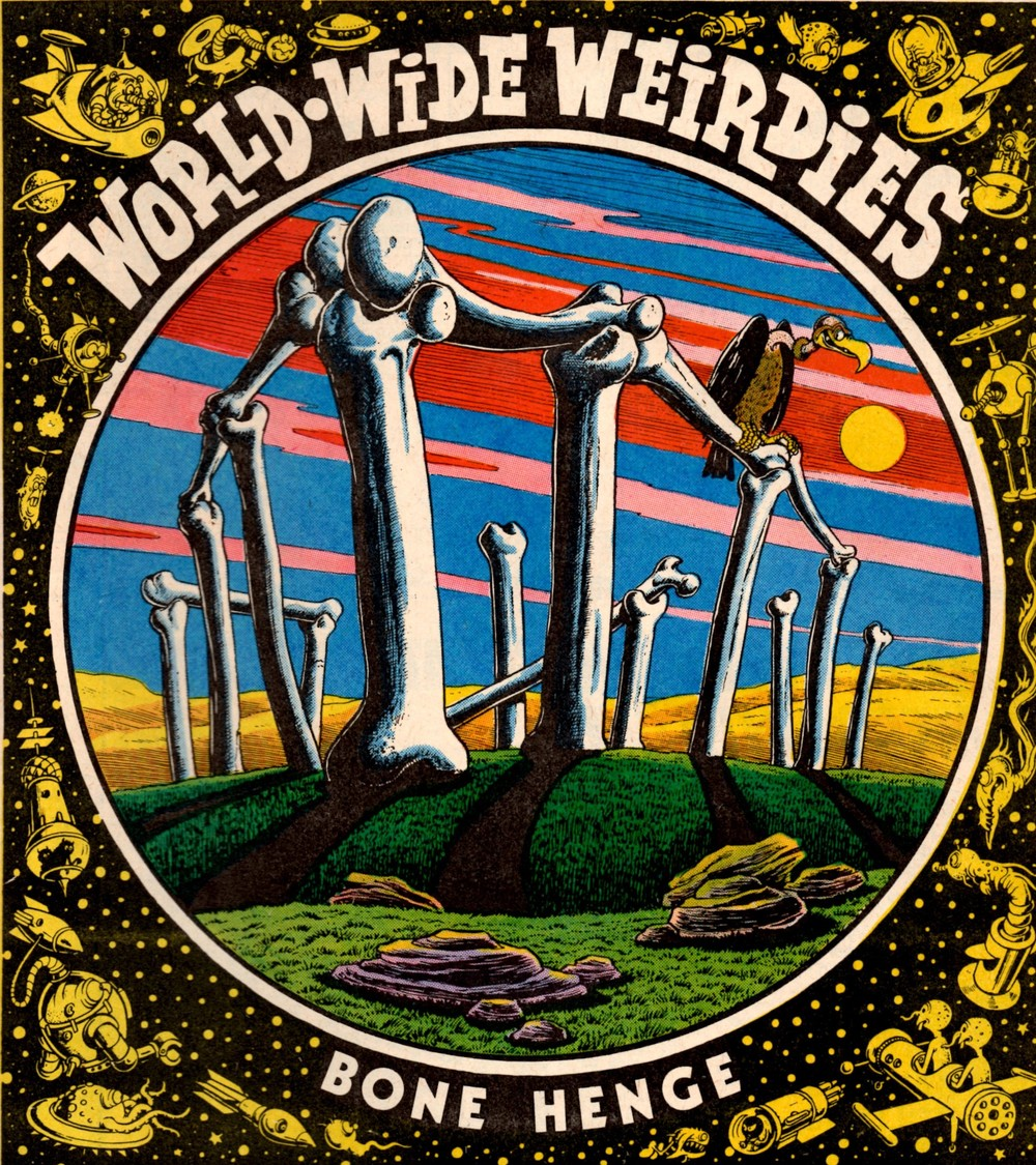 World-wide Weirdies: Ken Reid (artist)