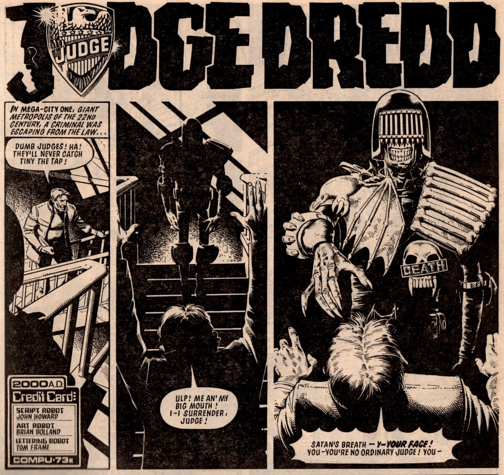 Judge Dredd: Judge Death: John Wagner (writer), Brian Bolland (artist)