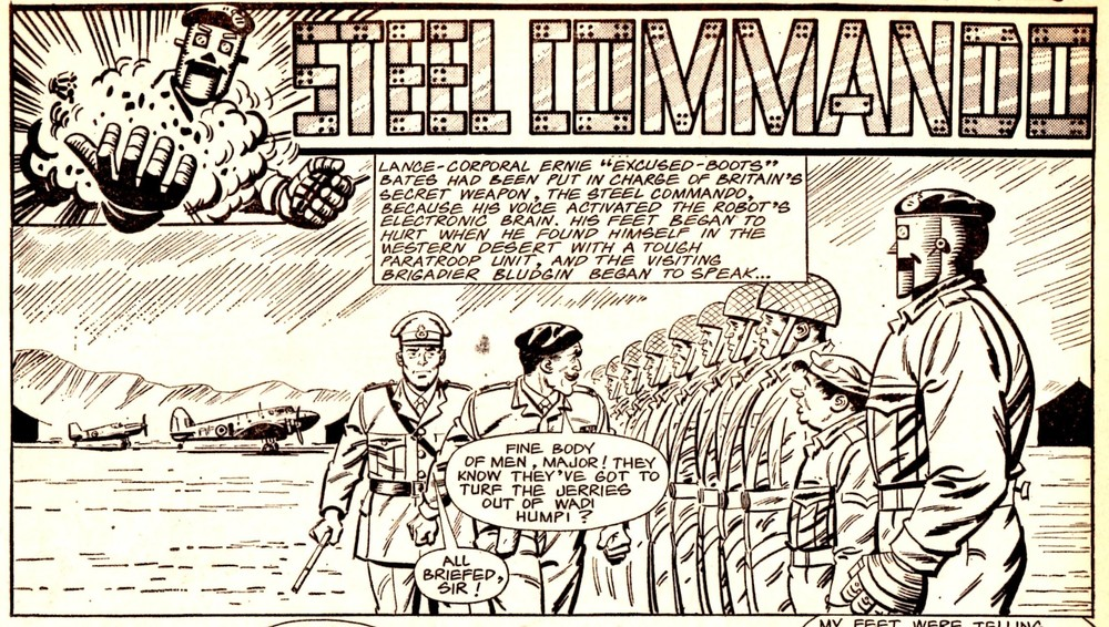 Steel Commando: Frank S. Pepper (writer), Alex Henderson (artist)
