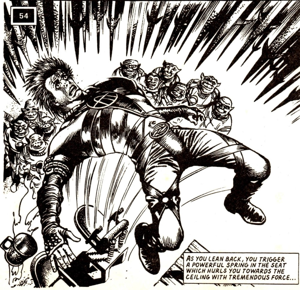 You Are Slaine: Cauldron of Blood: Pat Mills (writer), David Lloyd (artist)