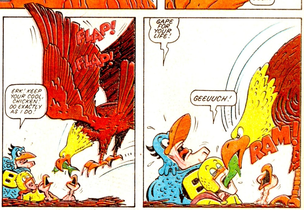 Birdman and Chicken: Trevor Metcalfe (artist)