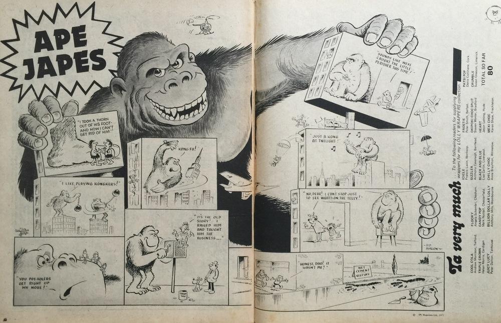 Ape Japes: Sid Burgon (artist)