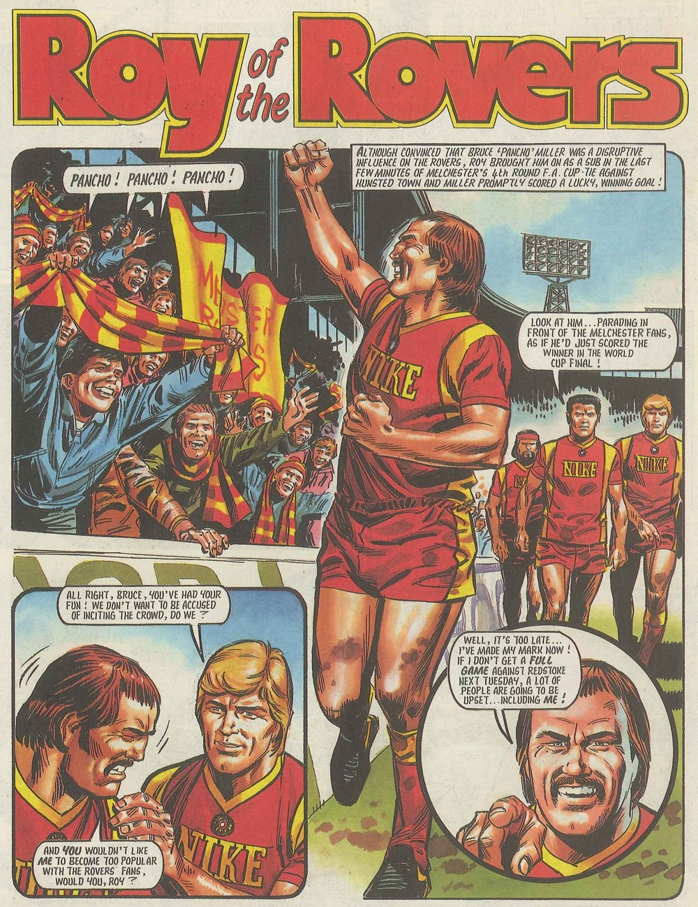 Roy of the Rovers: Tom Tully (writer), Mike White (artist)