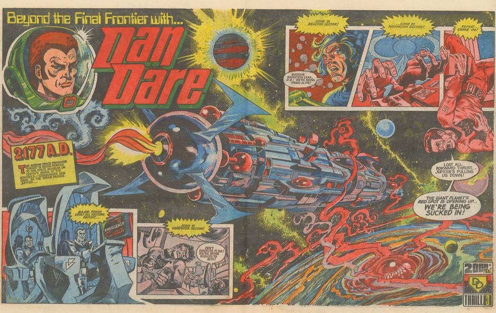 Dan Dare: Pat Mills and Ken Armstrong (writers), Massimo Belardinelli (artist)