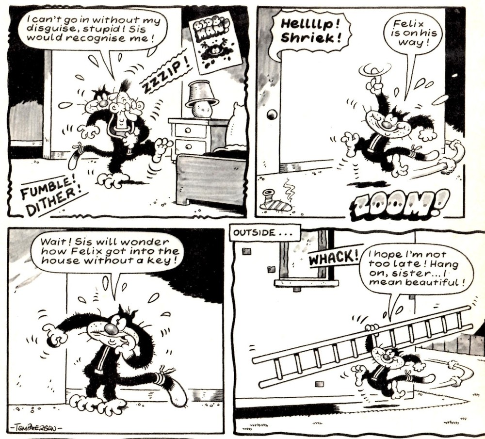 Felix the Pussycat: Tom Paterson (artist)