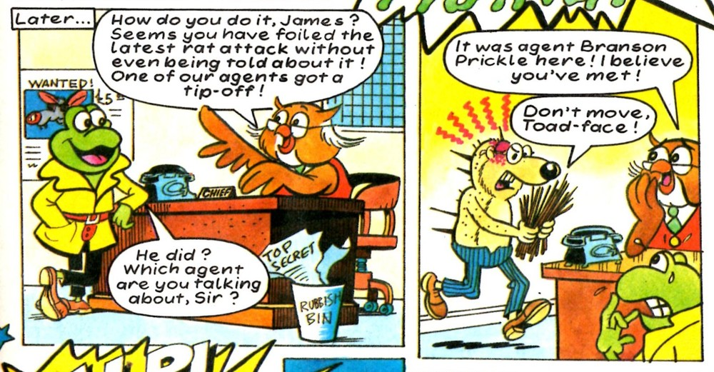 James Pond: Barrie Appleby (artist)