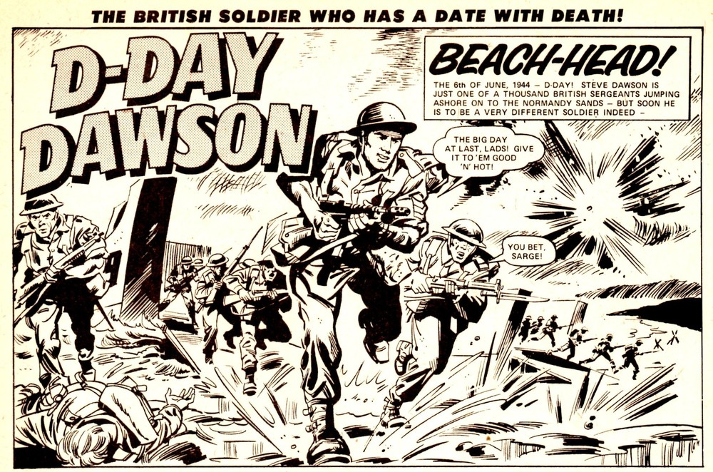 D-Day Dawson: Gerry Finley-Day (writer), Geoff Campion (artist)