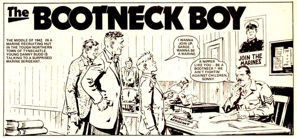 The Bootneck Boy: Ian MacDonald (writer), Giralt (artist)