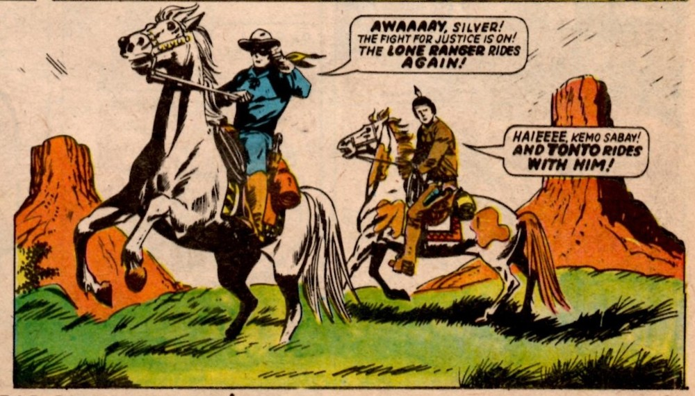 The Lone Ranger: Mike White (artist)