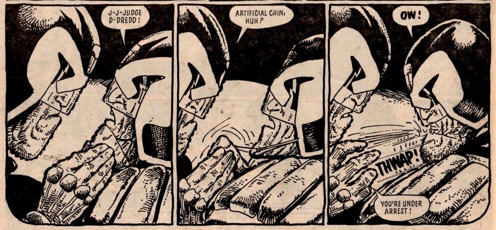 Judge Dredd: John Wagner (writer), Carlos Ezquerra (artist)