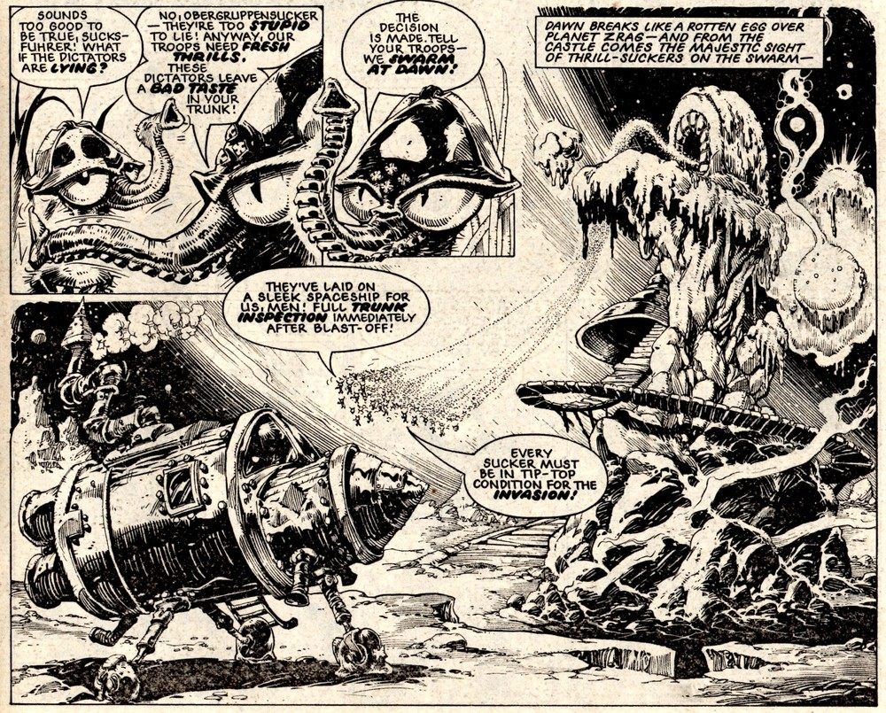 Invasion of the Thrill-snatchers: Massimo Belardinelli (artist)