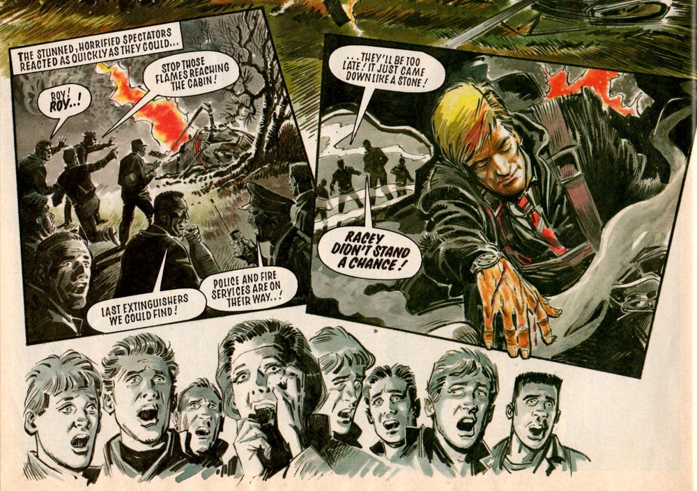 Roy of the Rovers: Tom Tully (writer), Barrie Mitchell (artist)