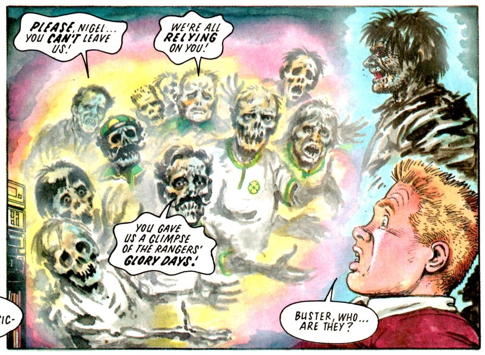 Buster's Ghost: Tom Tully (writer), Solano Lopez (artist)