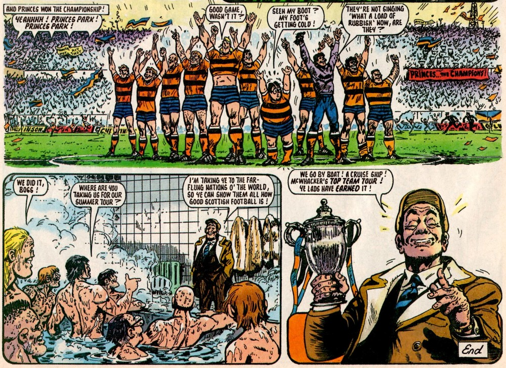 Hamish and Mouse: Fred Baker (writer), Julio Schiaffino (artist)