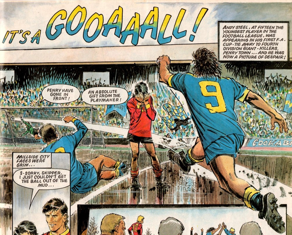 Andy Steel Playmaker: Barrie Mitchell (artist)
