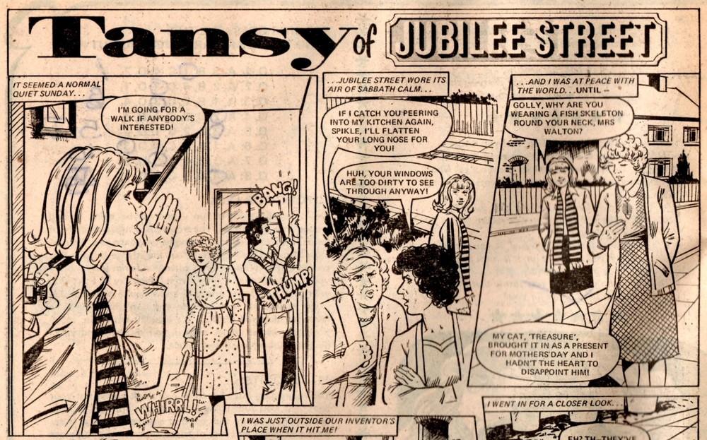 Tansy of Jubilee Street: Peter Wilkes (artist)