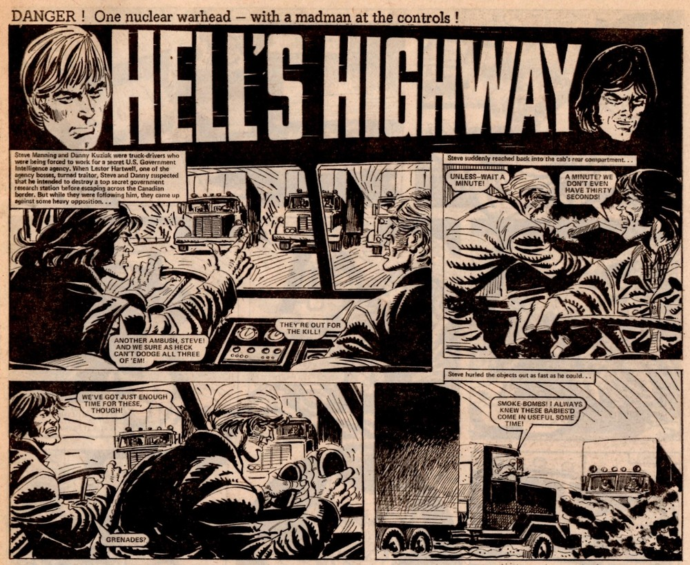 Hell's Highway: Mike White? (artist)