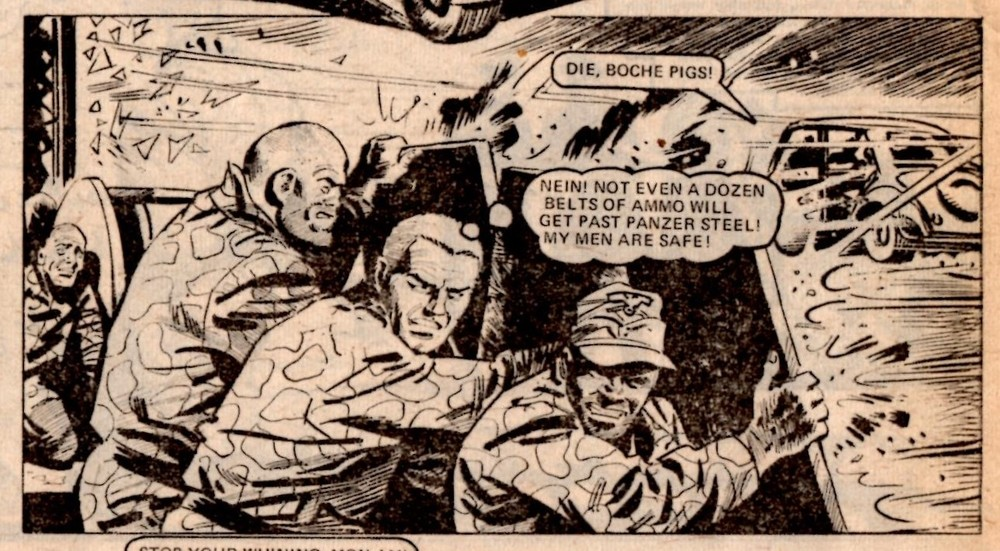 Hellman of Hammer Force: Gerry Finley-Day (writer), Mike Dorey? (artist)