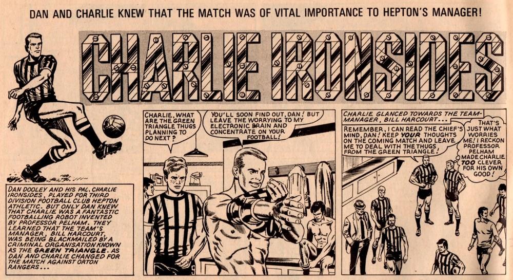 Charlie Ironsides: Osvaldo Torta? (artist)