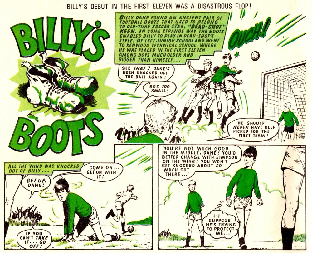 Billy's Boots: Fred Baker (writer), Tom Kerr? (artist)